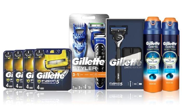 Gillette Ultimate Shaving Set Groupon + Massive 36% Cashback at Quidco