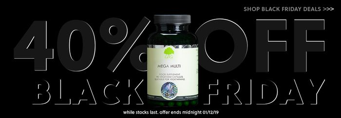 40% off All Supplements