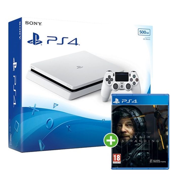 Sony PS4 Slim 500GB White + Death Stranding £199.99 with Free Shipping