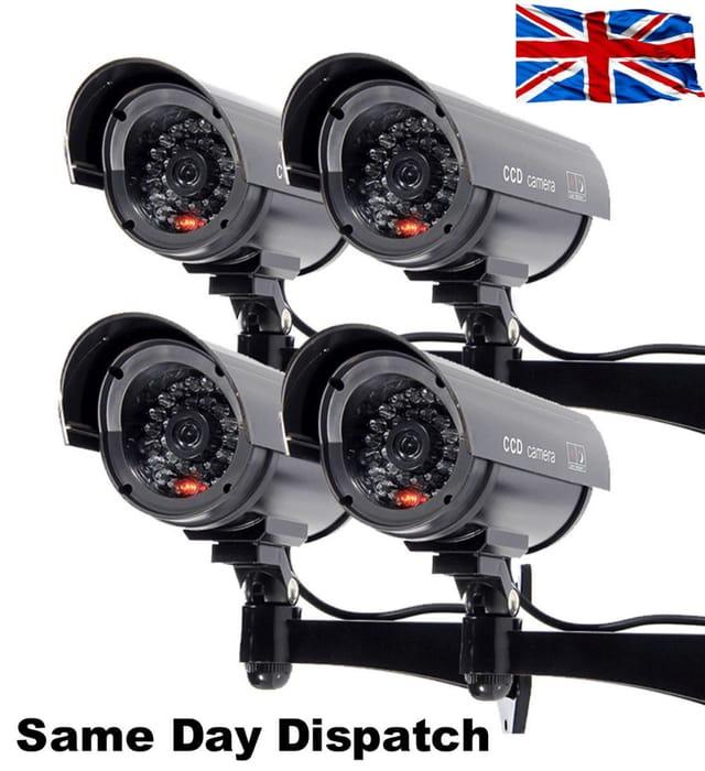 GREAT DEAL Fake Dummy CCTV Security Camera Flashing LED