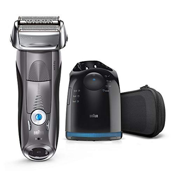 Braun Series 7 Electric Shaver for Men 7865cc, Wet and Dry