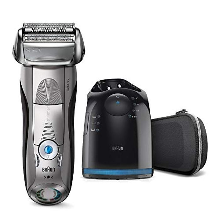 Braun Series 7 Electric Shaver for Men 7898cc, Wet and Dry