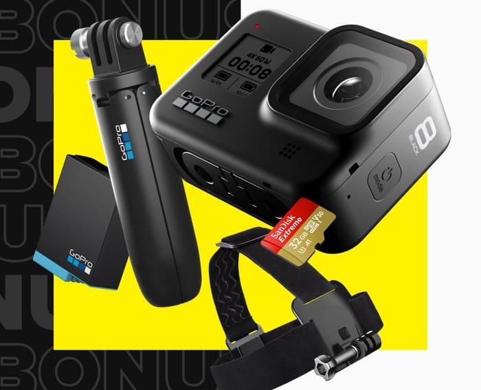 GoPro HERO8 Black Bundle £329 at GoPro Shop