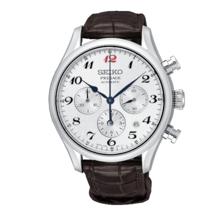 Seiko Presage SRQ025J1 Automatic Chronograph £950 at AMJ Watches