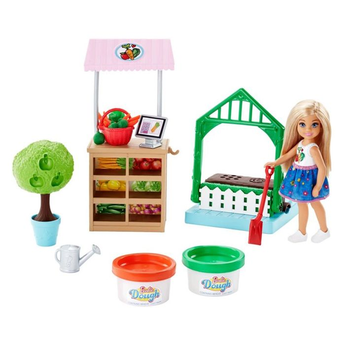 Barbie Garden Dough Playset with Chelsea Doll