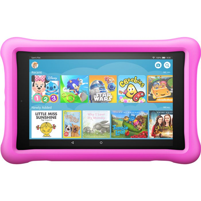"Amazon Fire HD Kids Edition 8"" 32GB WiFi Tablet - Pink"