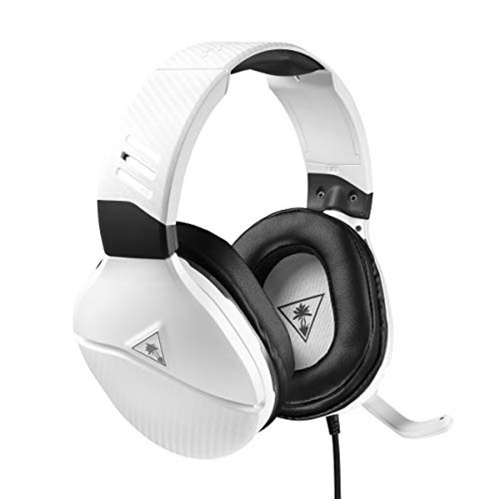 Turtle Beach Recon 200 White Amplified Gaming Headset -