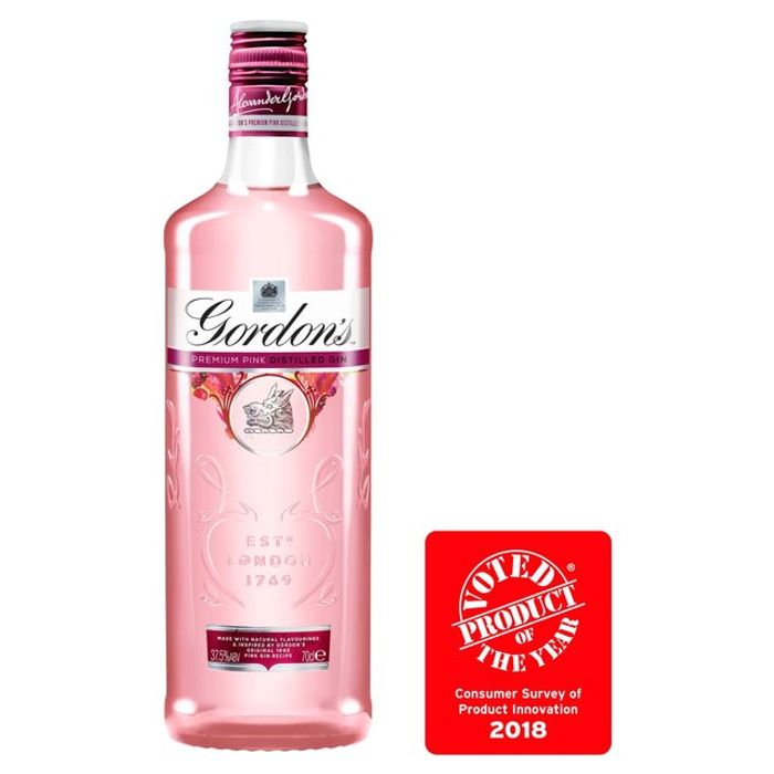Gordon's Premium Pink Distilled Gin 70cl On Sale From £14 to £16.5