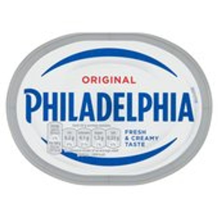 Philadelphia Original Soft Cheese 180g 7 Other Varieties Also Available