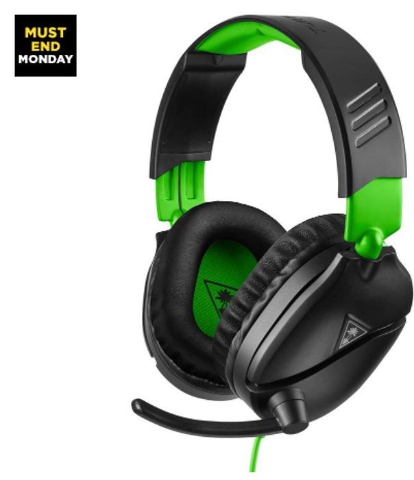 TURTLE BEACH Recon 70X Gaming Headset 33%kff Currys