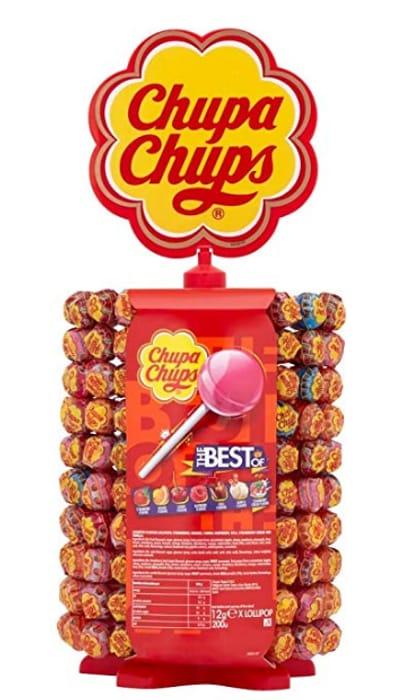 Chupa Chups Carousel of 180 + 20 Free Lollipops