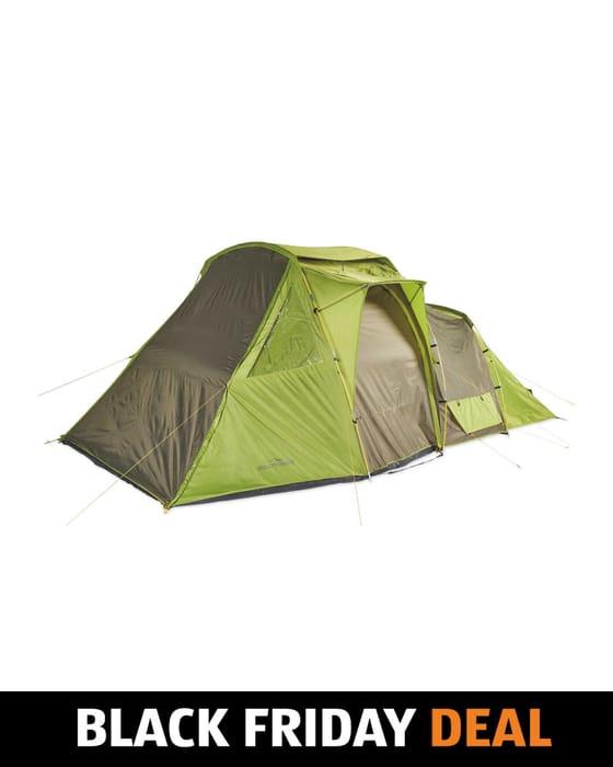 Cheap Adventuridge Green 4 Man Tent - Save £30!