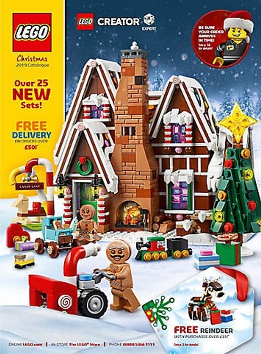 Free Christmas 2019 Lego Catalogue