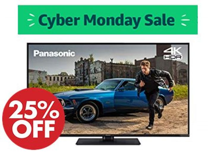 Panasonic 43 Inch 4K Ultra HD HDR Smart TV with Freeview Play (2019)
