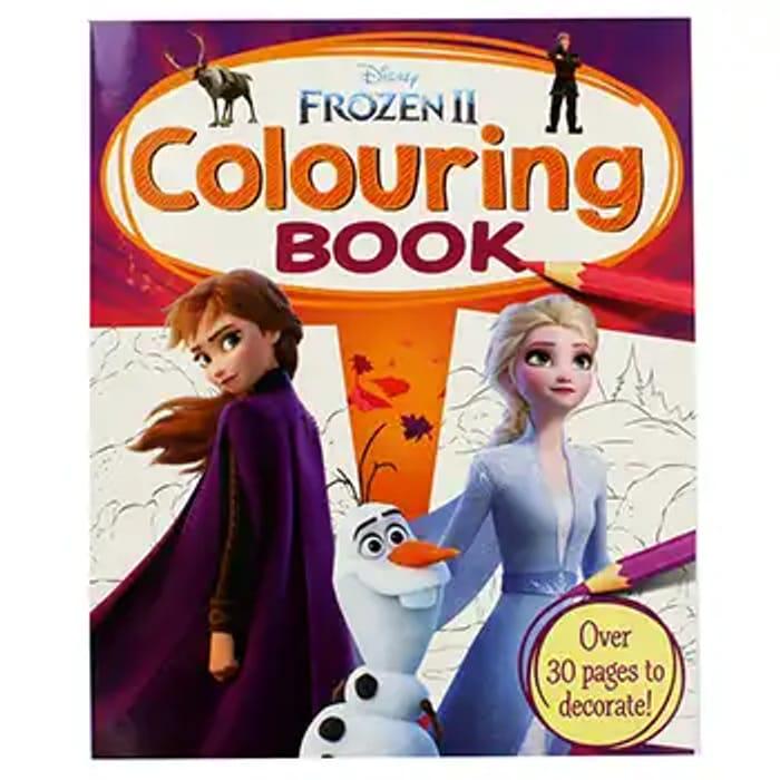Disney Frozen 2 Colouring Book - Save £2.50!