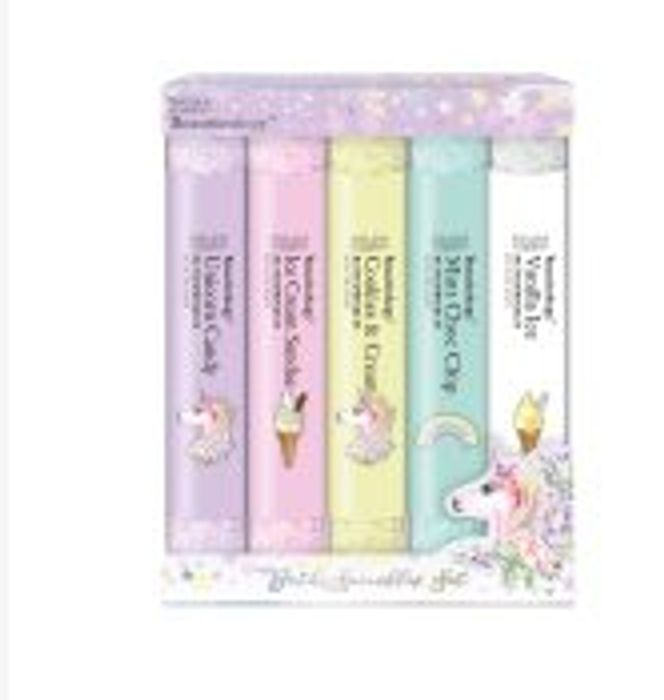 Cheap Baylis & Harding Beauticology Unicorn 5 Test Tube Bath Salts - Save £2!
