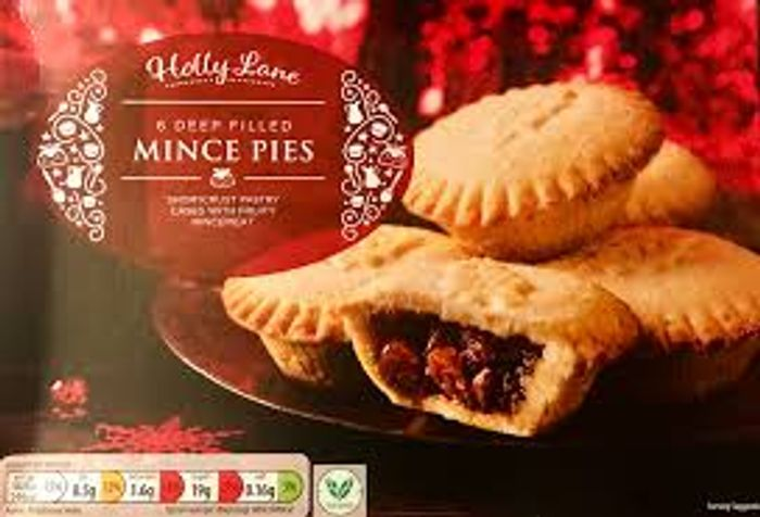 6 Deep Filled Mince Pies - Save £0.20!