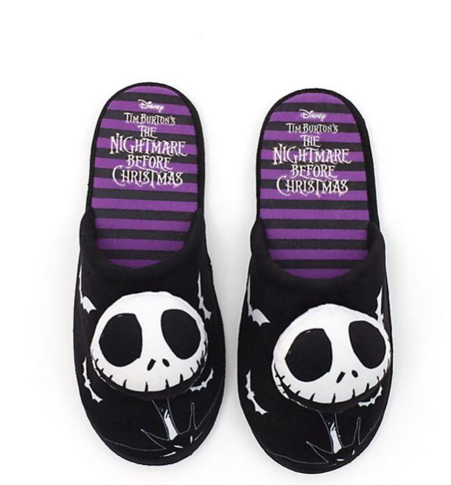 Disney the Nightmare before Christmas Slippers Adults Now £7 Delivered S, M, L