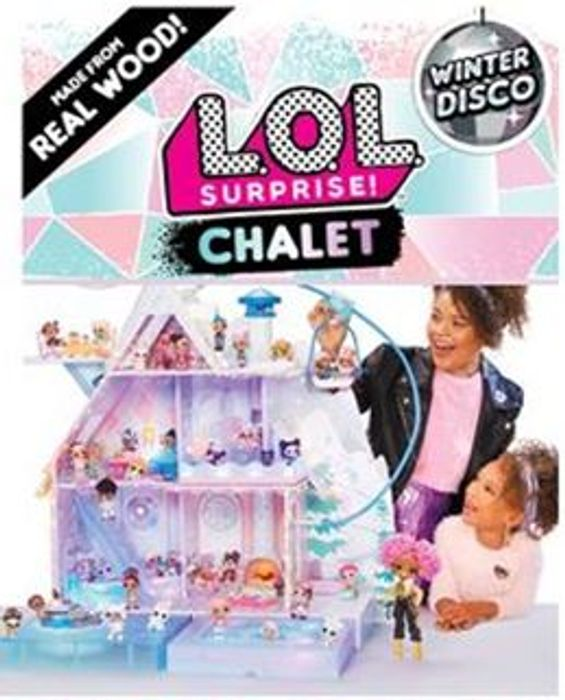 L.O.L. Surprise! Winter Disco Chalet £170+ FREE DELIVERY