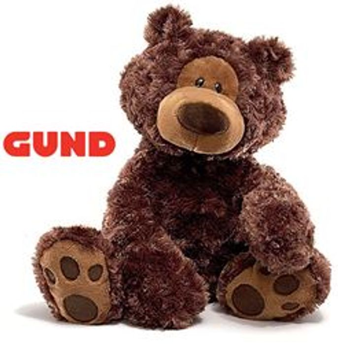 "GUND 18"" Brown Bear *4.5 STARS* (Premium Quality!)"