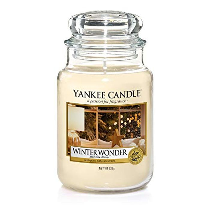 Yankee Candle Large Jar Scented Candle, Winter Wonder - Save £10!