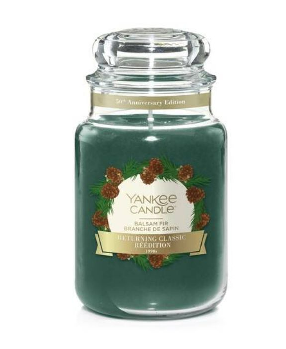 Yankee Candle Balsam Fir Large Candle for 12