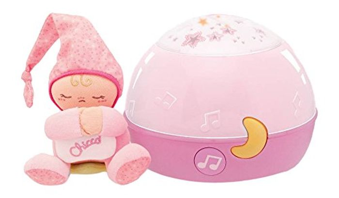 Chicco Musical Night Light Pink