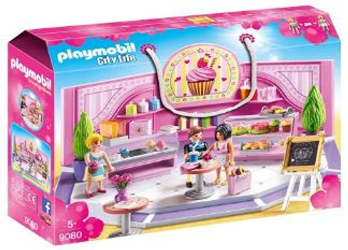 £10 off - Playmobil 9080 City Life Cupcake Shop *5 Stars*