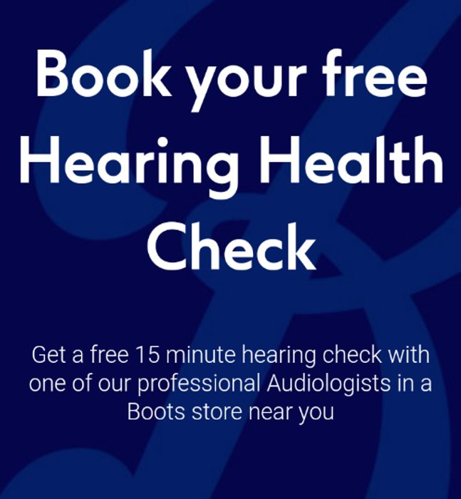 Book Your Free Hearing Health Check