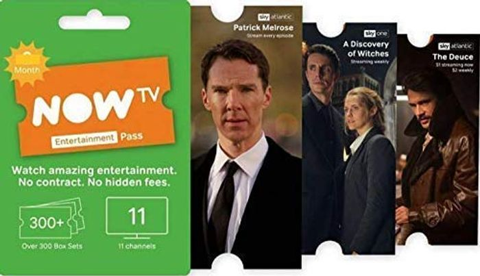 Now Tv 1 Month Sky Entertainment Pass Free Email Delivery