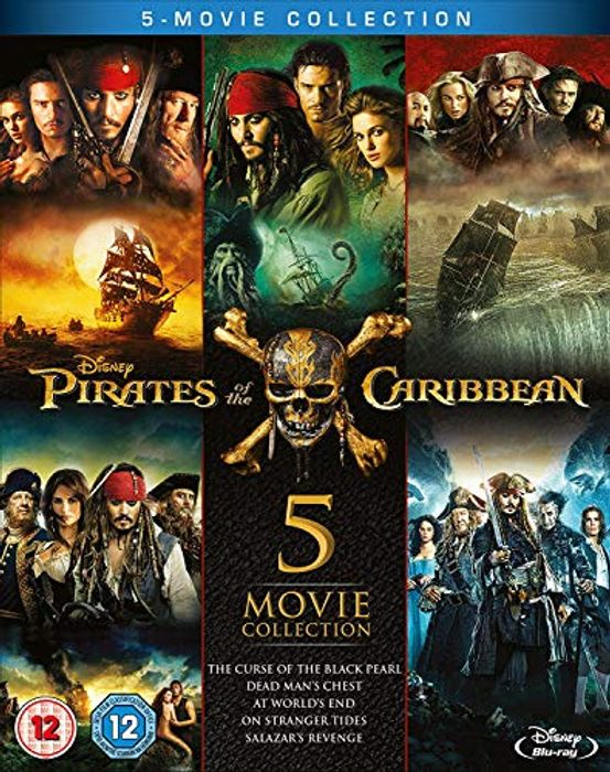 Best Ever Price! Pirates of the Caribbean 1-5 Blu-Ray Set