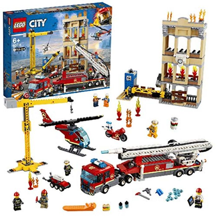 Best Ever Price! LEGO 60216 City Fire Downtown Fire Brigade