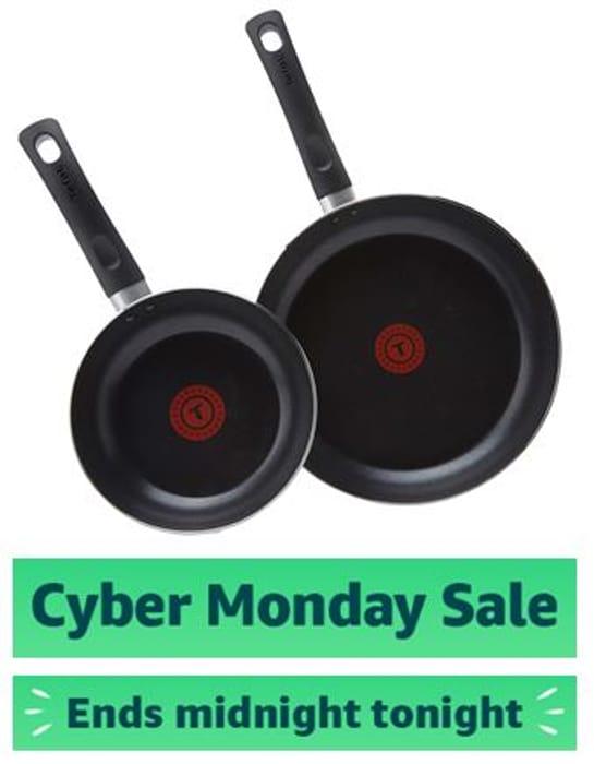 Tefal Taste, 20 Cm/ 28 Cm, Twin Pack, Frying Pan Set, Non Stick