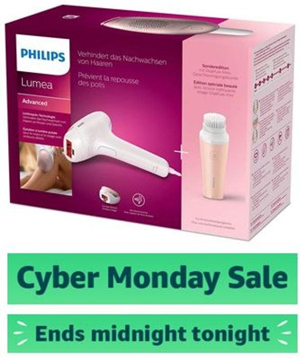 Philips Lumea Advanced IPL Hair Removal Device for Face and Body BRI922/00