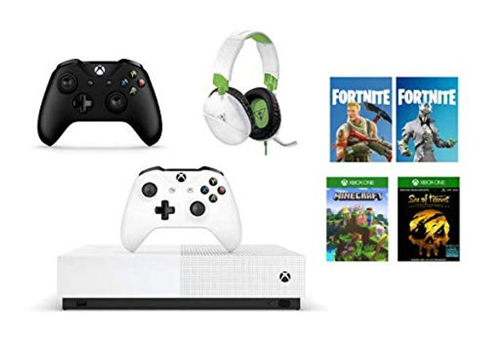 Xbox One S All-Digital + Black Controller + Turtle Beach Gaming Headset