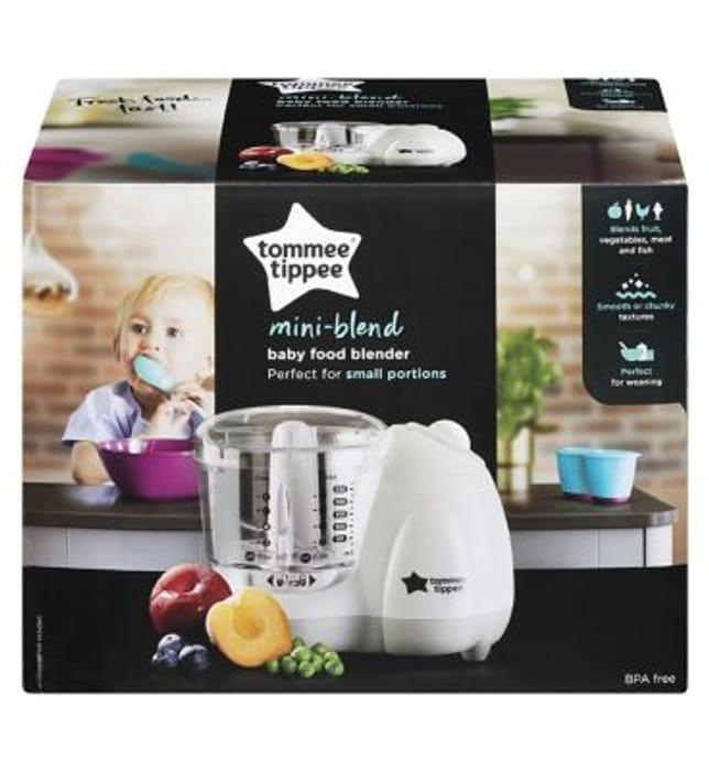 Tommee Tippee Baby Food Blender HALF PRICE
