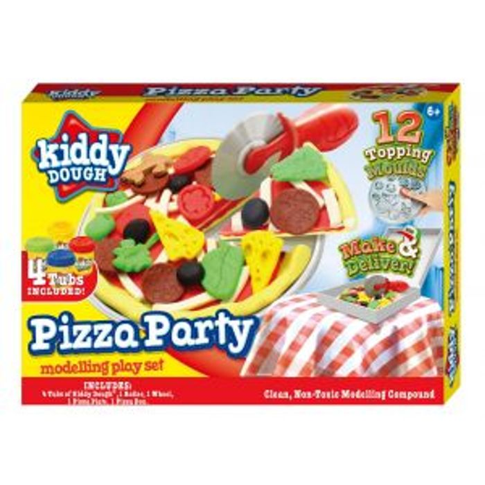 Kiddy Dough Pizza Party Modelling Play Set
