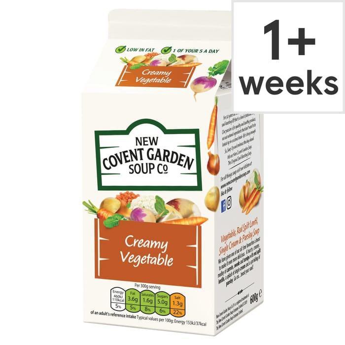 New Covent Garden Winter Vegetable Soup 600G