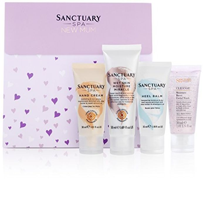 Sanctuary Spa Baby Shower Gift Set, New Mum Pamper Bag