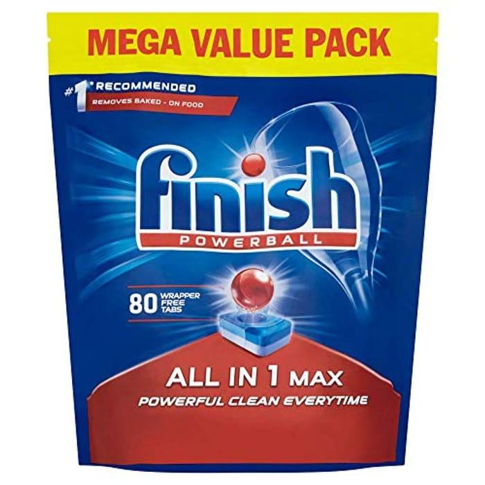 Finish Dishwasher Tablets 80 Tablets