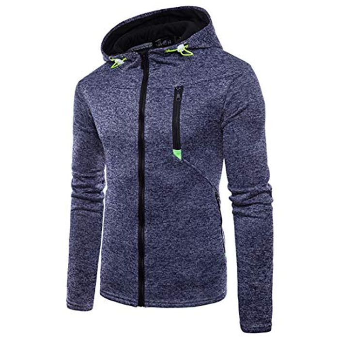 Cheap Mens Zip Up Hoodie Winter Gym Sport Jacket, Only £9.79!
