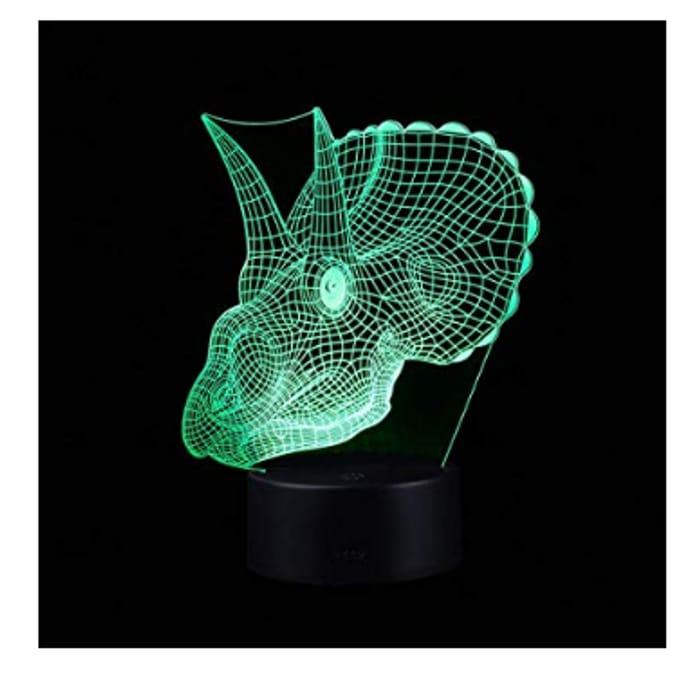 90% off 3D LED Night Light for Kid