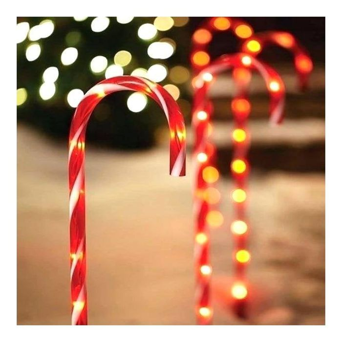 4 Pack Red Candy Canes Decorations