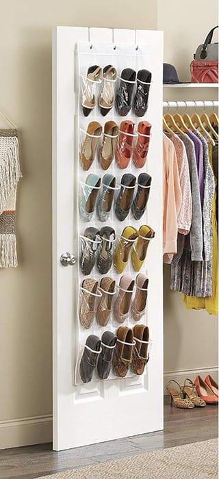 Deal Stack - Door Shoe Organizer - 50% off + Extra 20%