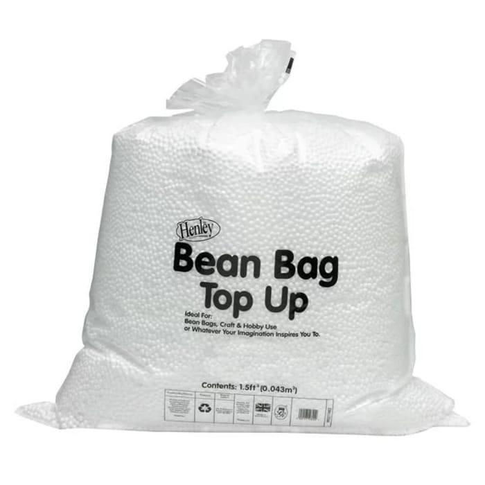 Wilko Polystyrene Bean Bag Top up Beans