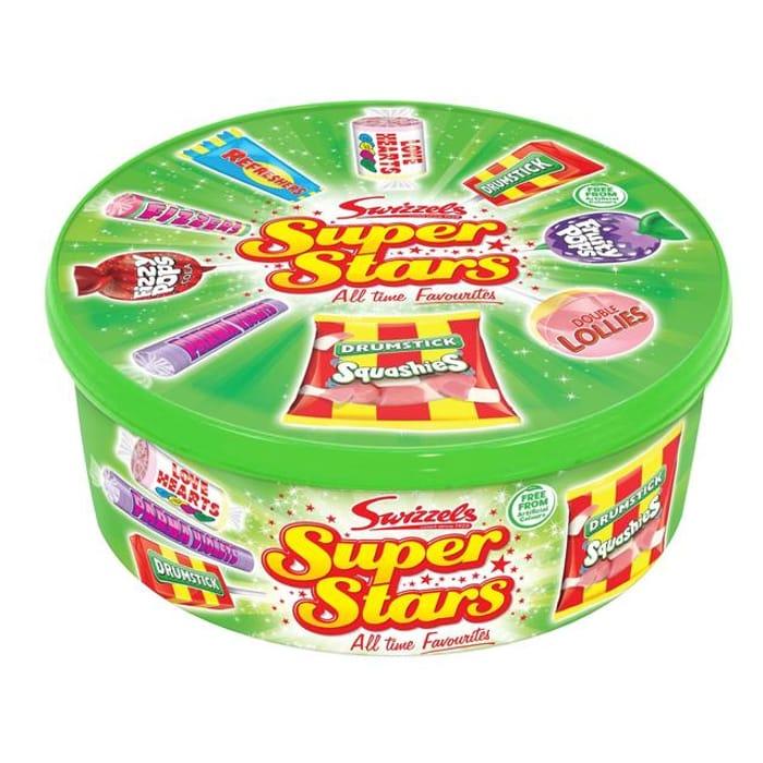Swizzels Super Stars Variety Mix 630g