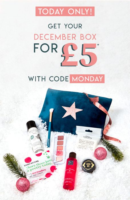 Birchbox: Get the December Box for £7.95 ! (Incl. P&P)