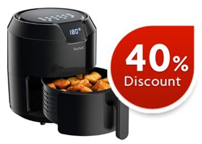 Cheap Tefal Air Fryer, Easy Fry Precision, Five Portions 4.2 Litre - Save £45!