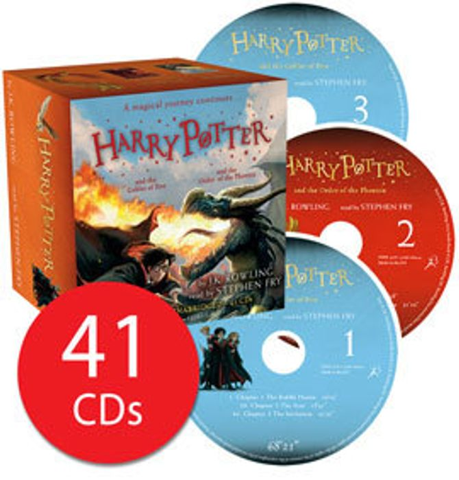 Harry Potter Books 4-5: Audio Collection - 41 CDs (