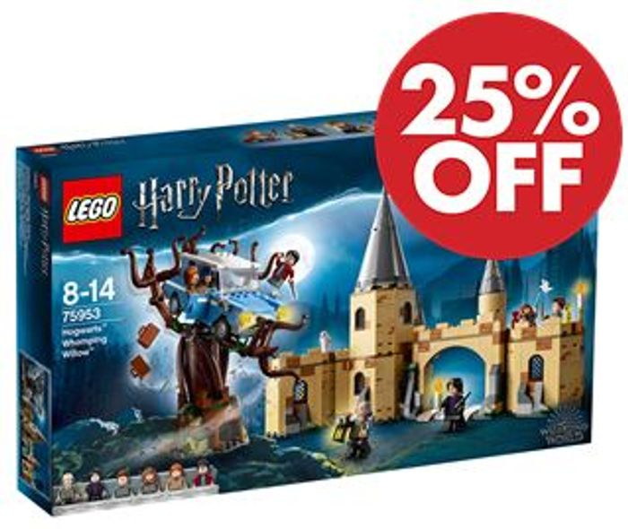 SAVE £15 - LEGO Harry Potter - Hogwarts Whomping Willow (75953)